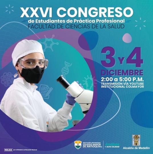 PROGRAMACIÓN XXVI CONGRESO DE ESTUDIANTES DE PRACTICA PROFESIONAL