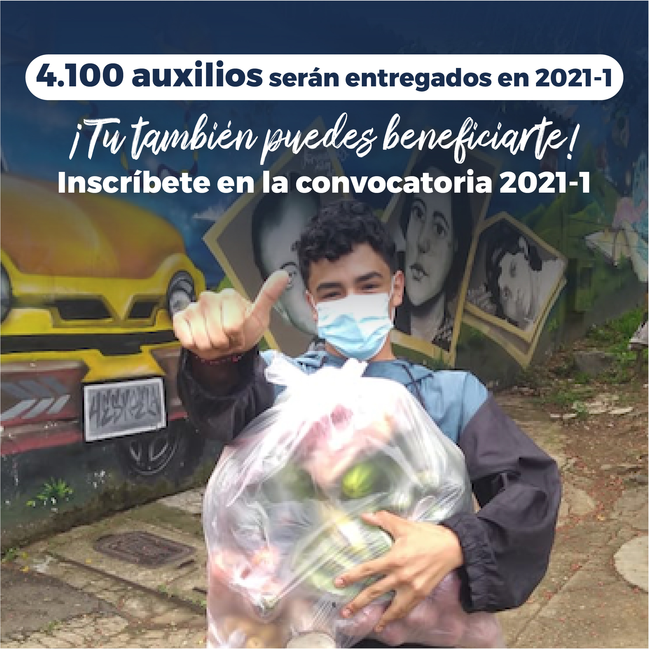 Convocatoria de auxilios para seguridad alimentaria 2021-1