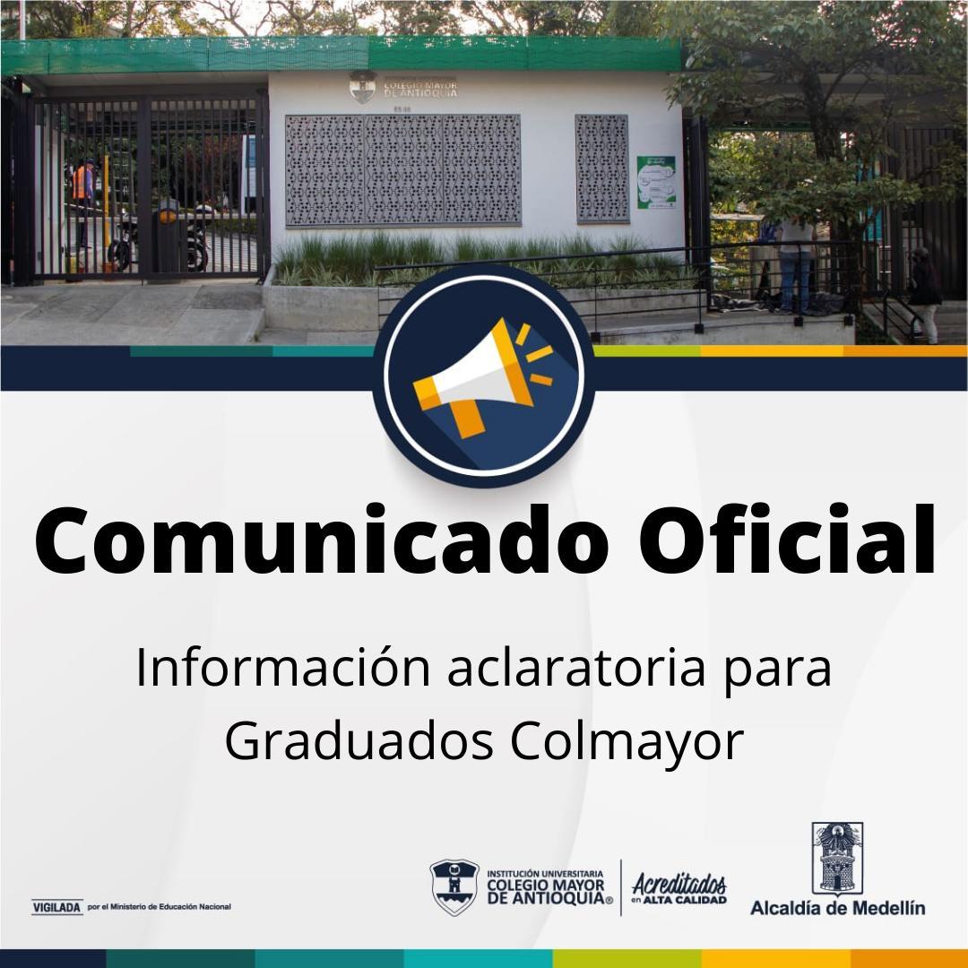 Centro de Graduados y canales oficiales de información
