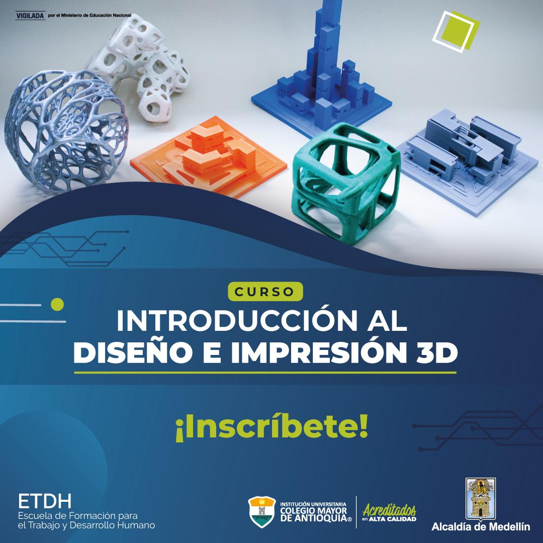 Curso de Introducción al diseño 3D