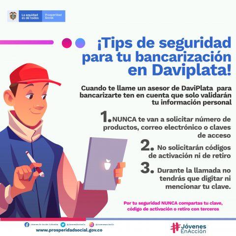 DaviPlata-Tips de bancarización