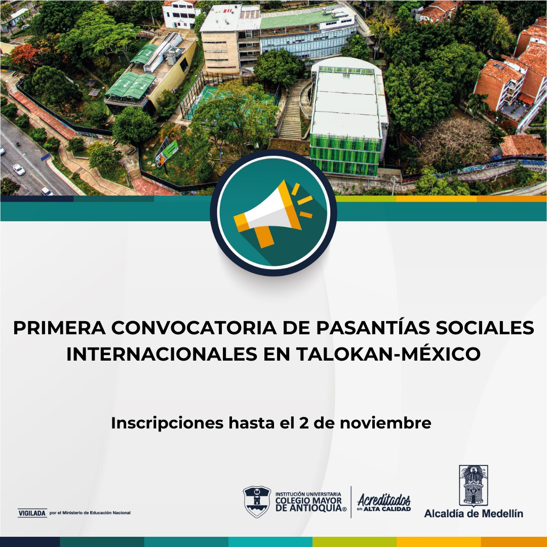 Convocatoria pasantía estudiantes Colmayor-Asociación Civil Talokan, México 2021-2
